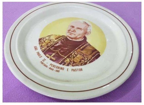 Prato Decorativo Sacavém João Paulo II