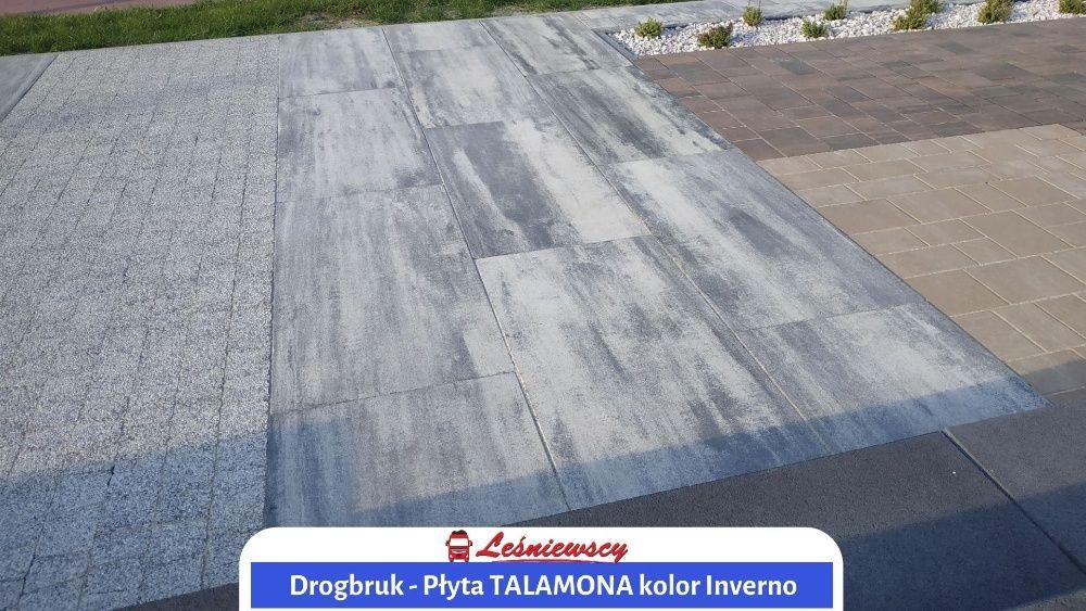NOWOŚĆ! Płyta betonowa DUŻY FORMAT 100x50cm Drogbruk-Talamona na taras Pleszew - image 1
