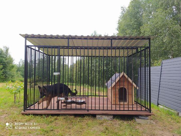 Kojce dla psów psa3X2 Klatka Boks buda wiata śmietnik składzik NA JUŻ
