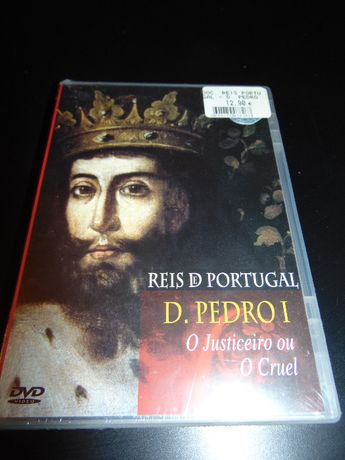 DVD Video Reis Portugal-D.Pedro I O Justiceiro ou O Cruel NOVO 50% des