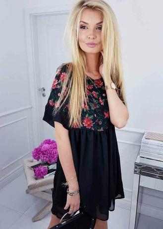Sukienka w kwiaty M/L