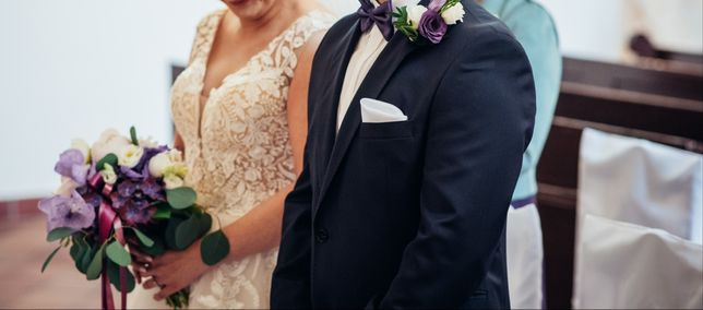 Poszetka, poszetki, biel, ecru, ślub, wesele, pan młody.