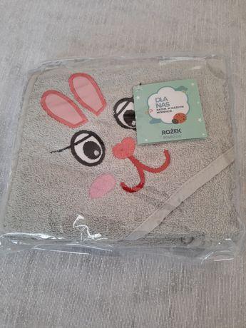 Ręcznik dla dziecka, rożek dla dziecka 80/80, wyprawka dla dziecka