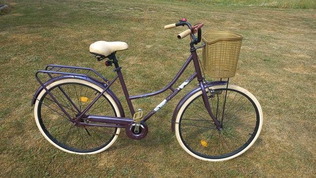 """Rower damka Martha koła 26"""" z koszykiem"""
