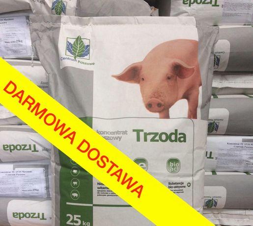 Koncentrat warchlak tucznik 25kg z zakwaszaczem! Pasza dla świń trzody