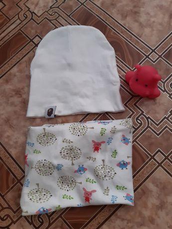 Снуд( хомут,шарф) демисезон+ШАПКА В ПОДАРОК