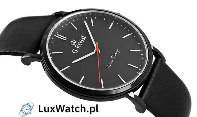 Zegarek Męski G.ROSSI 10768A-1A3 Pudełko Prezentowe Gratis Okazja