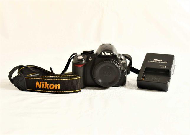 Nikon D3100 máquina fotográfica digital reflex