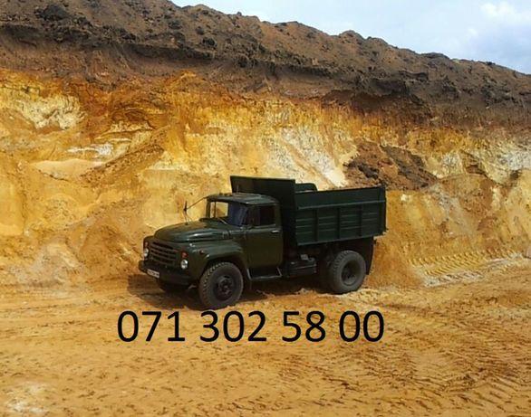 Песок ЗИЛ Щебень до 6 тонн.