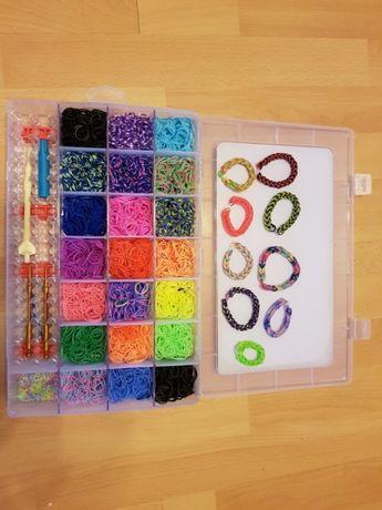 Rainbow Loom Bands Gumki Bransoletki 4200