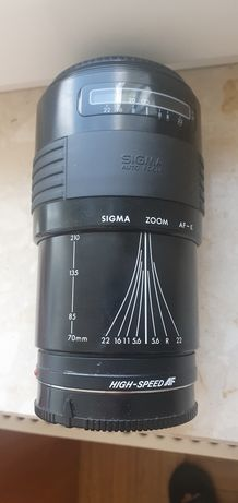 Sigma Auto Focus UC ZOOM 70-210mm 1: 4-5.6 Multi-Coated Review