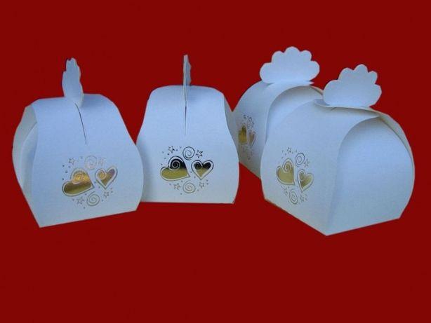Pudełeczko koszyczek na cukierki babeczki mini muffinki słodycze