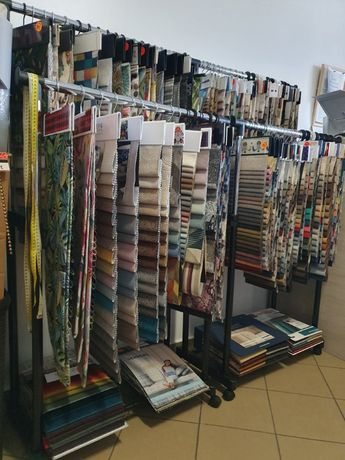 Sklep tapicerski, tkaniny tapicerskie, pianka tapicerska, na siedziska