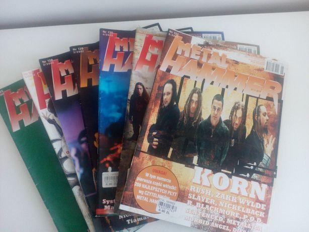 Metal Hammer - numery archiwalne (2001/2002)
