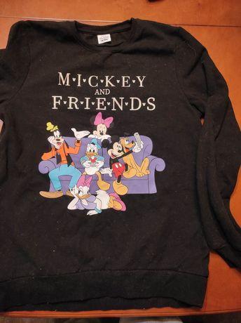 Bluza czarna Mickey mouse
