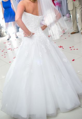 Suknia ślubna - Sincerity Bridal 3771 2 welony stan bdb