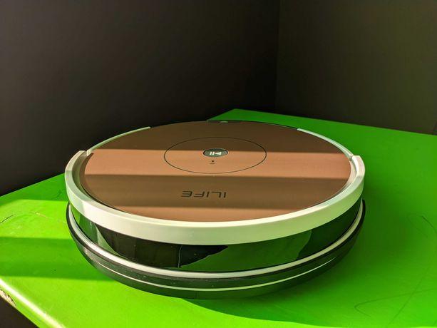 Новый! iLife A80 Plus робот пылесос с гироскопом, картой и турбощеткой
