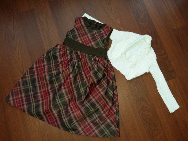 3-4 года(98-104 см)Gap нарядное платье с болеро/zara, next,benetton