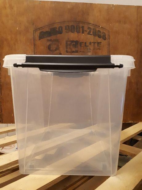 Pojemnik Box plastikowy Pudełko na zabawki 60 l Skrzynka Dowóz gratis