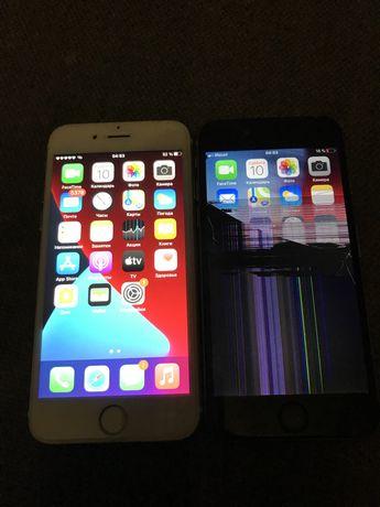 Два iPhone 6 и 6s