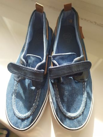 Trampki mokasyny jeans 37-Smyk