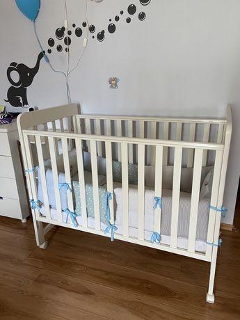 Кроватка детская MyBaby + матрас Верес (и подарки) 120х60