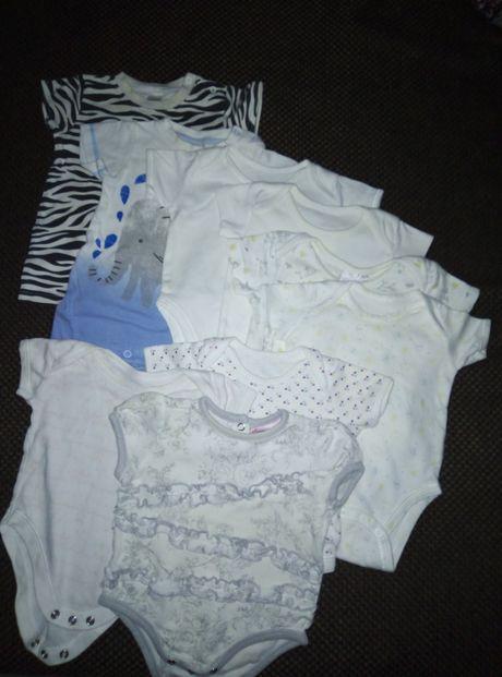 Пакет вещей для новорождённой девочки