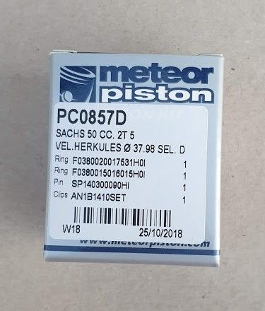 Piston Sachs 5V D38 Meteor