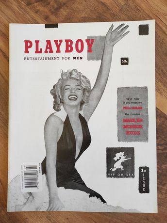 Playboy 1st issue (Плейбой перший випуск)