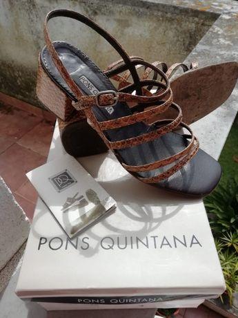 Sandálias em pele - 38 - da prestigiada Pons Quintana