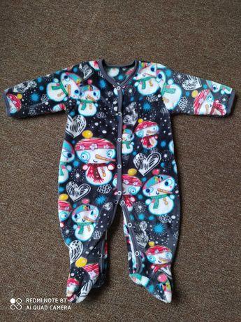 Теплый Комбинезон человечек для детей одежда для мальчика девочки