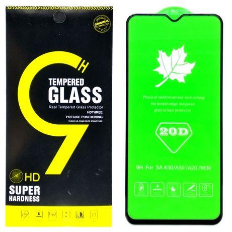 Защитное стекло 20D на для Samsung A20 A30 A30s A50 A50s M30s M31 M21
