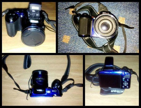 Цифровой фотоаппарат Nikon Coolpix L810 с сумкой без дефектов