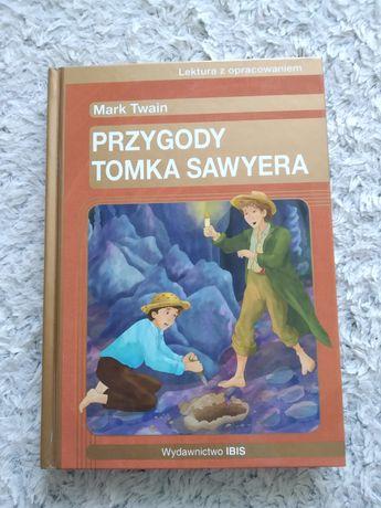 """Książka dla młodzieży """"Przygody Tomka Sawyera"""""""