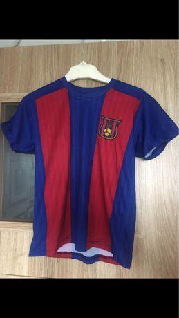 Koszulka FC Barcelona Messi piłka nożna dla chłopca chłopaka