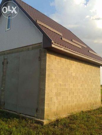 Участок под строительство с гаражом 2014г. Продам или обменяю