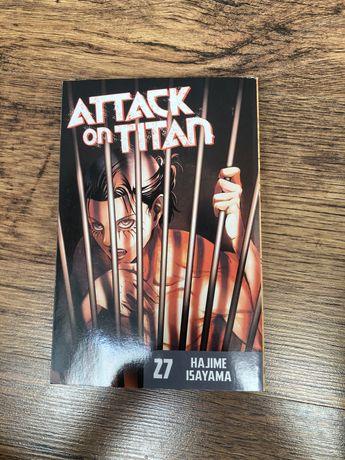Attack on titan tom 27