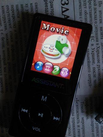 MP3 MP4 плеер 1Gb с динамиком цветной дисплей