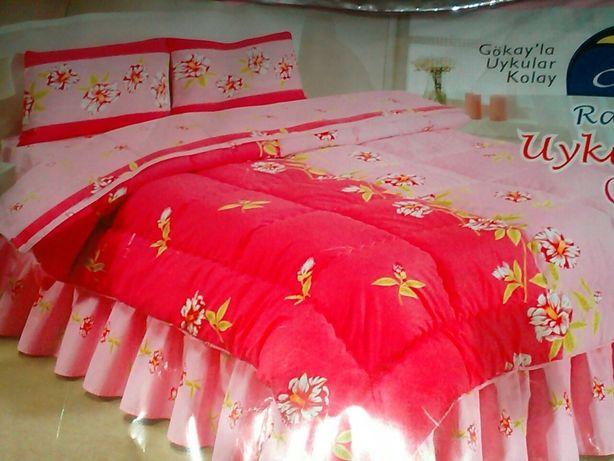 Постельное бельё с одеялом пр-во Турция, 100% хлопок.