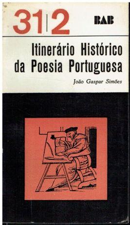 4924- Itinerário histórico da poesia portuguesa de João Gaspar Simões