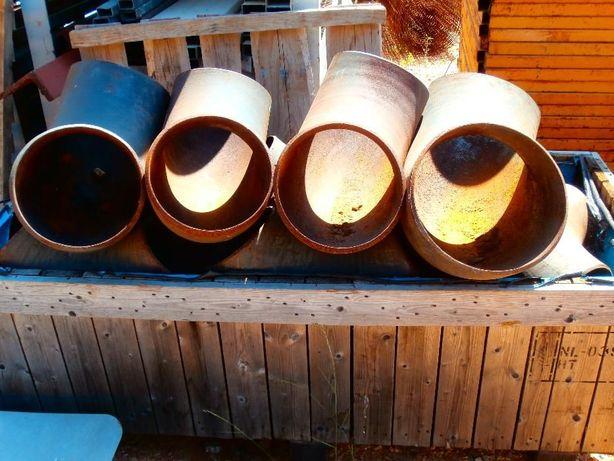 Tubos em Ferro Curva 90º e Diversos - Usado