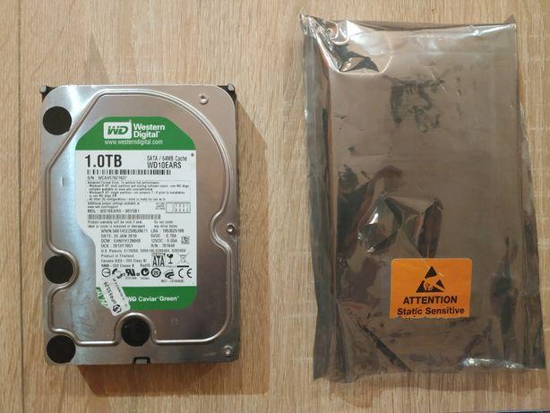 """Dysk twardy HDD WD Caviar Green 1000gb/1tb 3.5"""" SATA II (WD10EARS)"""