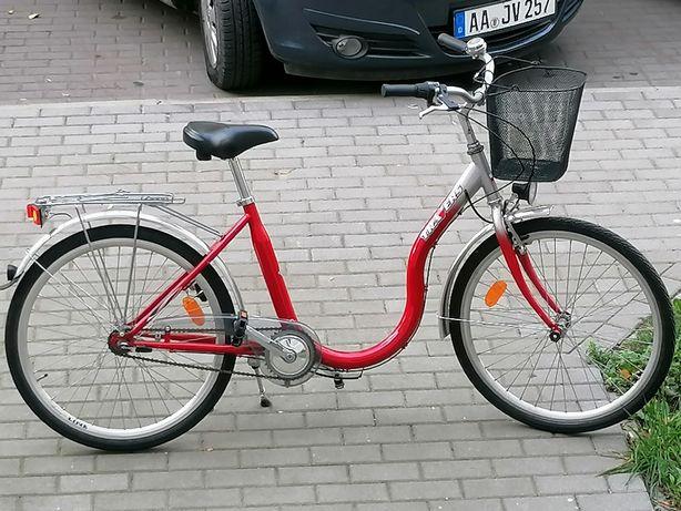 "Sprzedam rower damka 26""kola aluminiowe niska rama"