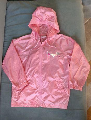 Płaszcz przeciwdeszczowy NEXT z mini plecaczkiem - rozmiar 128