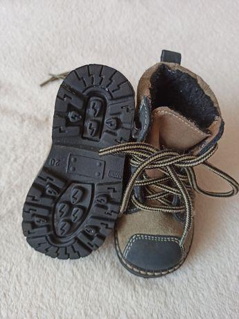 Зимові чобітки черевики зимове взуття 20 розмір