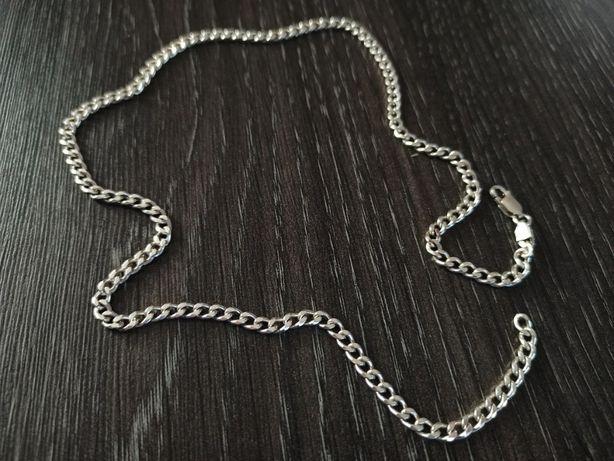 Piękny łańcuszek srebrny PANCERKA Srebro 925 WYSYŁKA