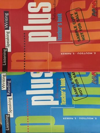 Plus.Teacher's Book. Elementary lub Intermediate
