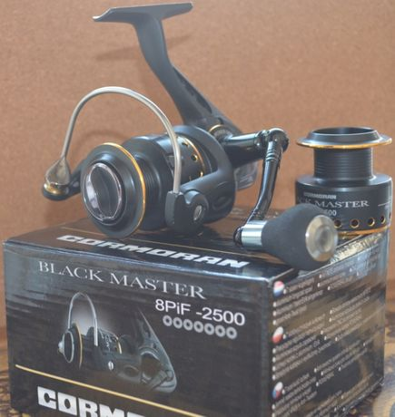Катушка Cormoran Black Master 8PiF 2500