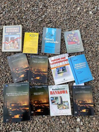 Kilka książek dla studentów finansów i bankowości na WSZiB