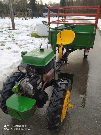Męski rjs1 dzik traktorek ogrodowy